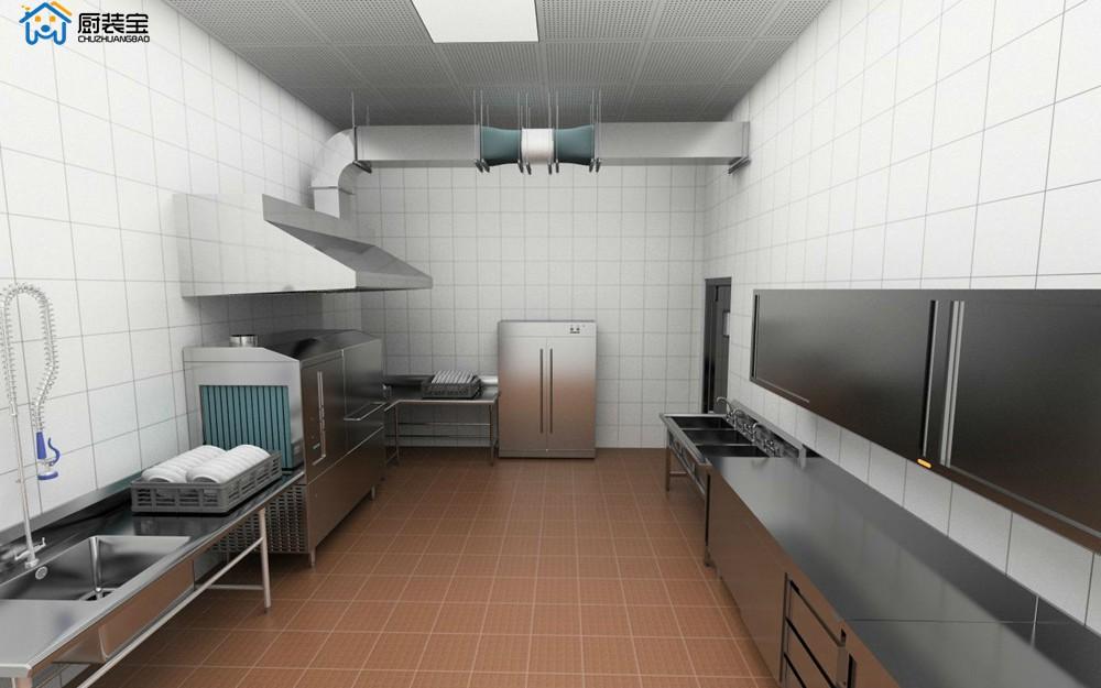 餐饮面点房设计效果图