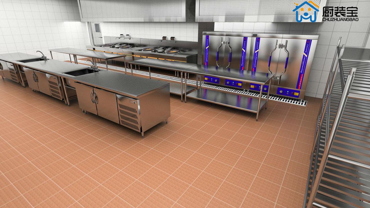 商用厨房设计效果